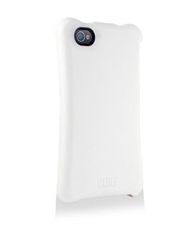 BUILT Apple iPhone 4/4S Ergonomic Hard Shell Case, White