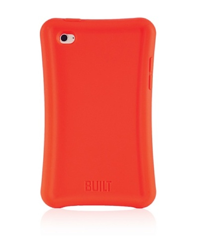 BUILT Apple iPod Touch Ergonomic Silicone Soft Case, Fireball