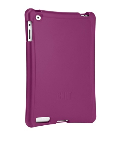 BUILT Apple iPad or iPad 2 Ergonomic Hard-Shell Case, Raspberry