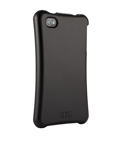 BUILT Apple iPhone 4/4S Ergonomic Hard Shell Case, Black