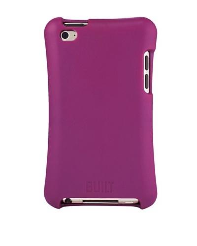 BUILT Apple iPod Touch Ergonomic Hard Shell Case, Rasberry