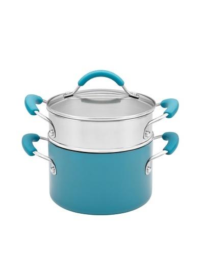KitchenAid Aluminum Nonstick 3-Quart Covered Saucepot with Stainless Steel Steamer Insert