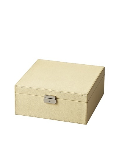 Butler Specialty Co. Cream Leather Storage Case