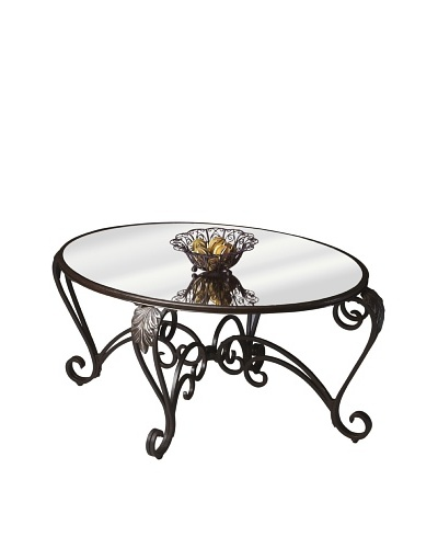 Butler Specialty Company Melrose Metalworks Oval Cocktail Table