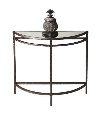 Butler Specialty Company Mirror Demilune Console Table