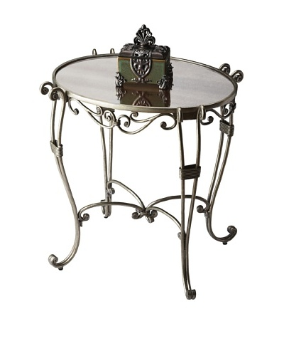 Butler Specialty Company Melrose Metalworks Oval Side Table