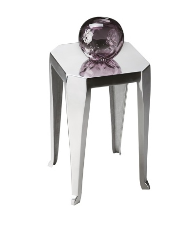 Butler Specialty Company Polished Aluminum Side Table