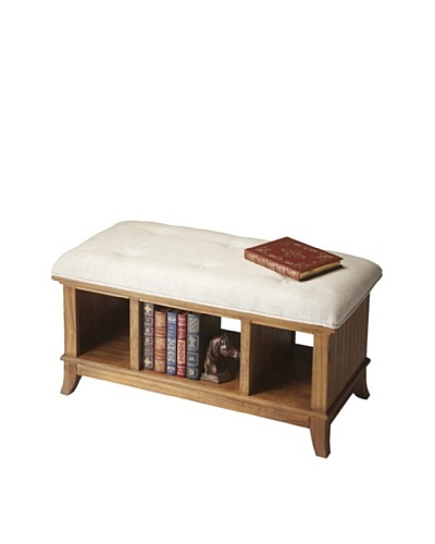 Butler Specialty Company Storage Bench, Sandy Shore