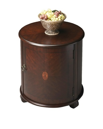 Butler Specialty Company Drum Table, Plantation CherryAs You See