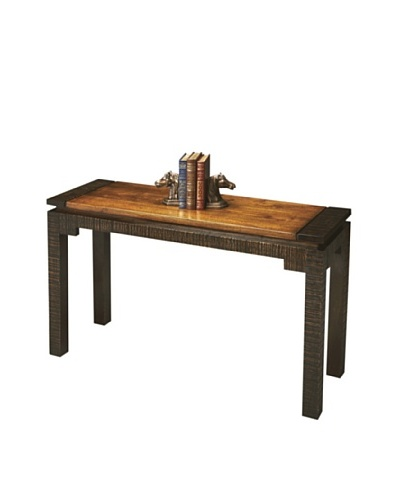 Butler Specialty Company Mountain Lodge Console Table, Natural/Espresso