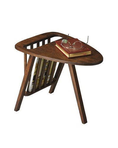 Butler Specialty Company Russet Magazine Table, Aged Brown