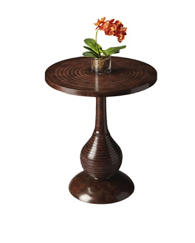 Butler Specialty Company Modern Expressions Accent Table, Dark Brown
