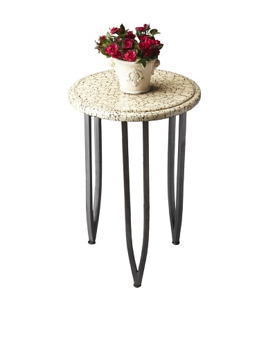 Butler Specialty Company Ivory/Gray Accent Table
