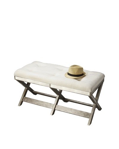 Butler Specialty Company Mirrored Bench