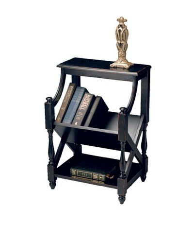 Butler Specialty Company Book Table, Plum Black