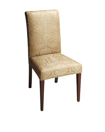 Butler Specialty Company Parsons Chair, Gold Damask