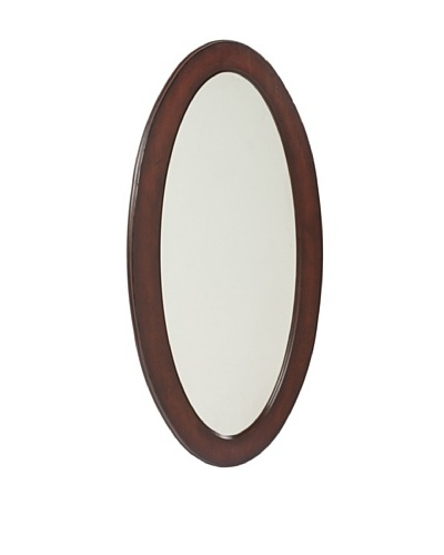 Butler Specialty Company Oval Mirror, Plantation CherryAs You See