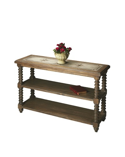 Butler Specialty Company Console Table, Mountain Lodge