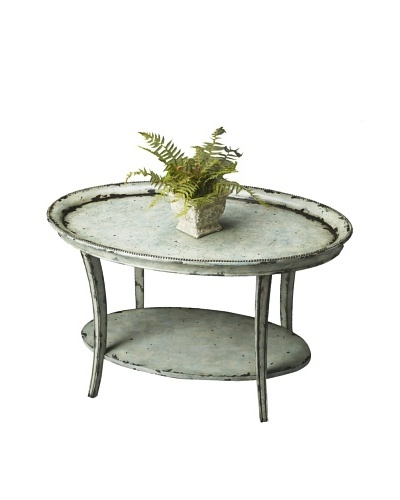 Butler Specialty Company Oval Cocktail Table, Water's Edge
