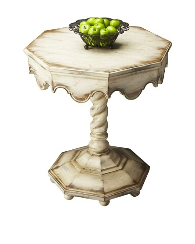 Butler Specialty Company Octagonal Accent Table, Alabaster