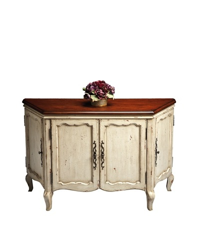 Butler Specialty Company Console Cabinet, Vanilla/Cherry