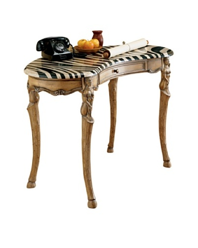 Butler Specialty Company Heritage Writing Desk, Light Wood/ZebraAs You See