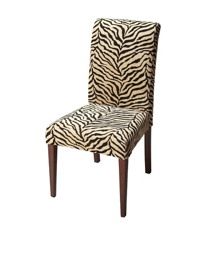 Butler Specialty Company Parsons Chair, Zebra