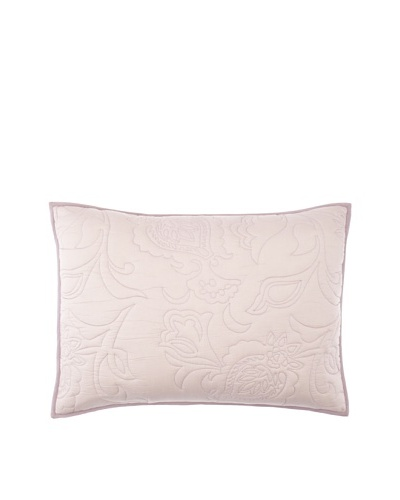 Villa Home Cassia Pillow Sham, Plum, Standard