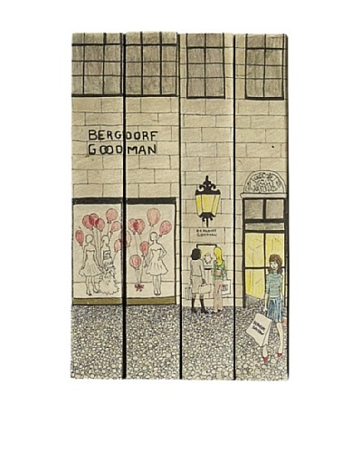 By Its Cover Decorative Reclaimed Books Window Shoppers Series I, Set of 4