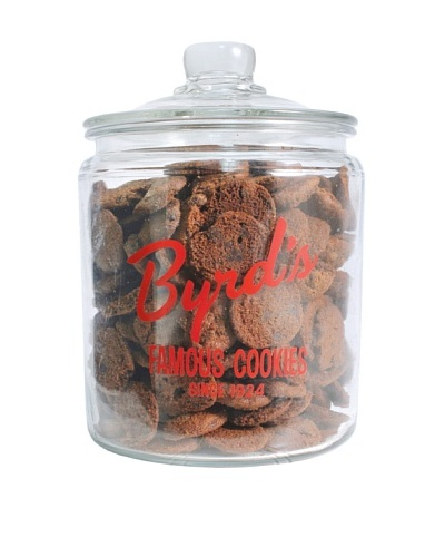 Byrd Cookie Company Logoed Jar with Chocolate Mint Cookies, 1lb