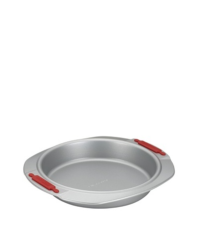 """Cake Boss 9"""" Round Cake Pan with Silicone Grips"""