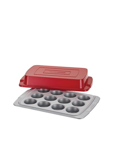 Cake Boss 12-Cup Covered Muffin & Cupcake Pan