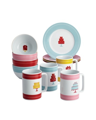 Cake Boss 12-Piece Mini Cakes Complete Dessert Set