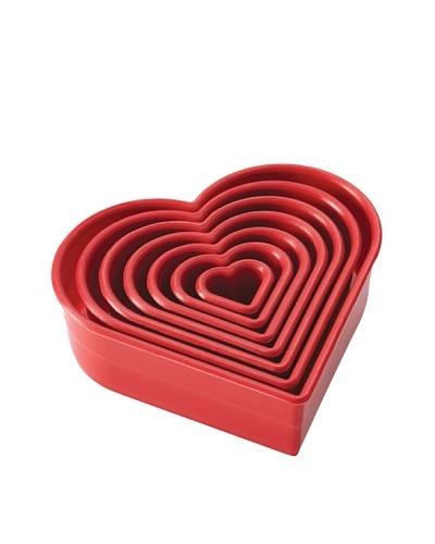 Cake Boss 7-Piece Heart Cutter Set