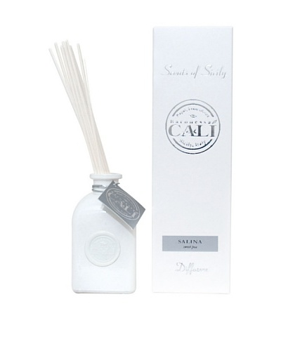 Cali Cosmetics 8.5-Oz Sweet Pea Diffuser, White