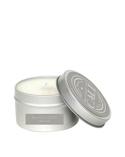 Cali Cosmetics 6-Oz. Citrus Basil Travel Tin Candle