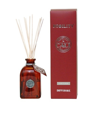 Cali Cosmetics 8.5-Oz Contessa Diffuser, Red