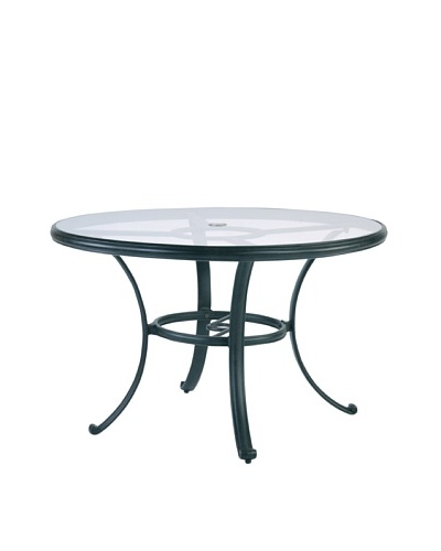 Caluco Venice Round Dining Table, Desert Bronze