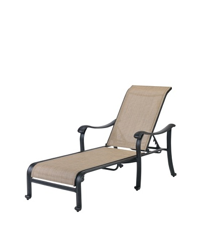 Caluco Venice Single Chaise, Desert Bronze