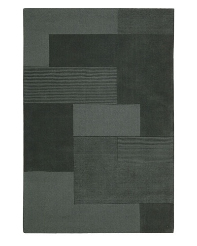 Calvin Klein Bowery GRID Rectangle Rug [Atlantic]