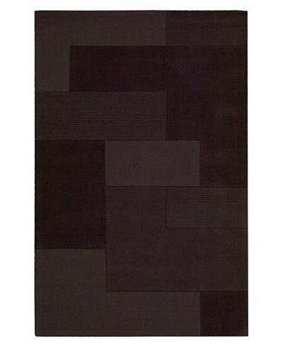 Calvin Klein Bowery GRID Rectangle Rug [Pepper]