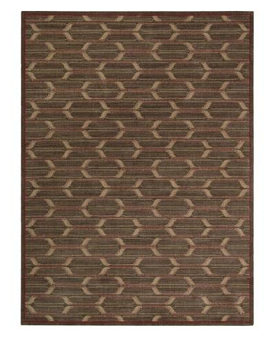 Calvin Klein Home Woven Textures Rug, Brown, 5' 3 x 7' 5
