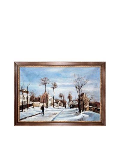 Camille Pissarro Street in the Snow, LouveciennesAs You See