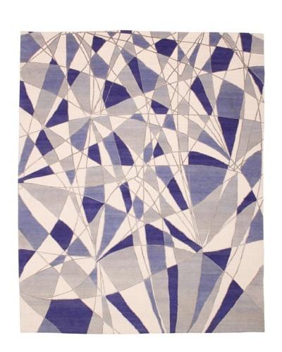 Campion Platt Reflections Rug, Taupe/Blue Multi, 8' x 10'