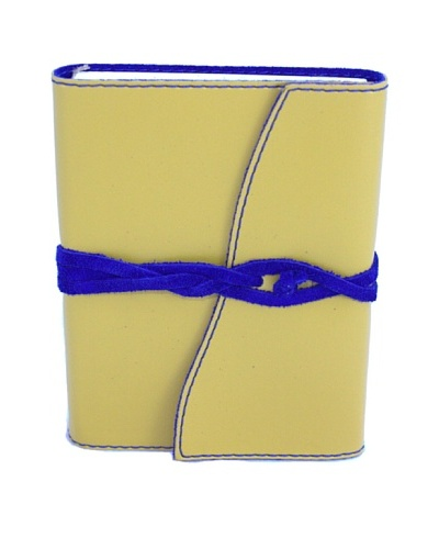 Campo Marzio Hand Made Diary, Yellow