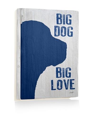 Ursula Dodge Big Dog Reclaimed Wood Sign