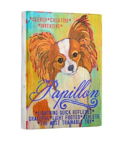Ursula Dodge Papillon Reclaimed Wood Portrait