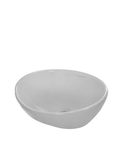 Caracalla By Nameeks Ca4047 Bathroom Sink, White