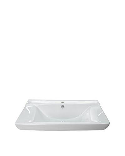 Caracalla By Nameeks Ca477 Bathroom Sink, White