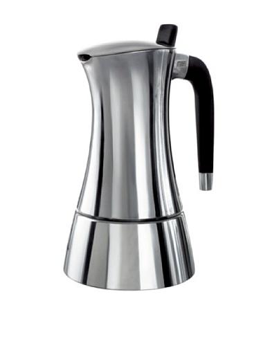 Casa Bugatti Milla 6-cup Espresso Maker, Stainless